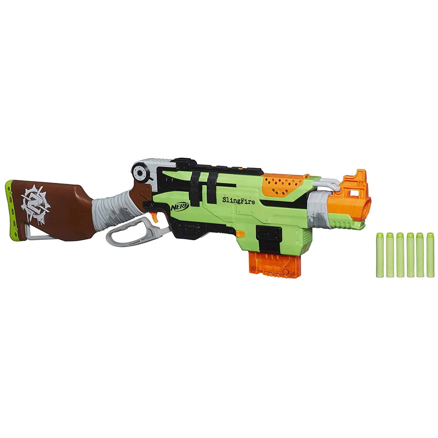 Nerf Zombie Strike SlingFire Blaster - Best Nerf Guns Under $30