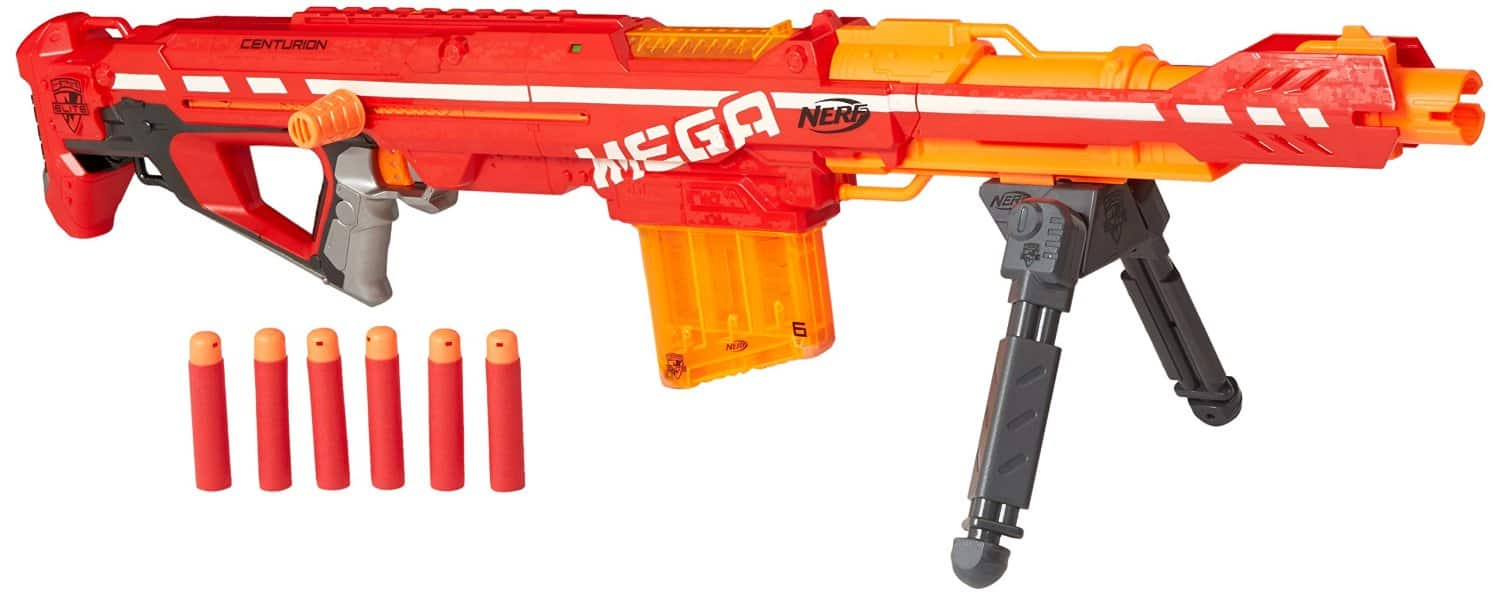 Nerf N-Strike Elite Centurion Blaster Toy - Best Nerf Guns