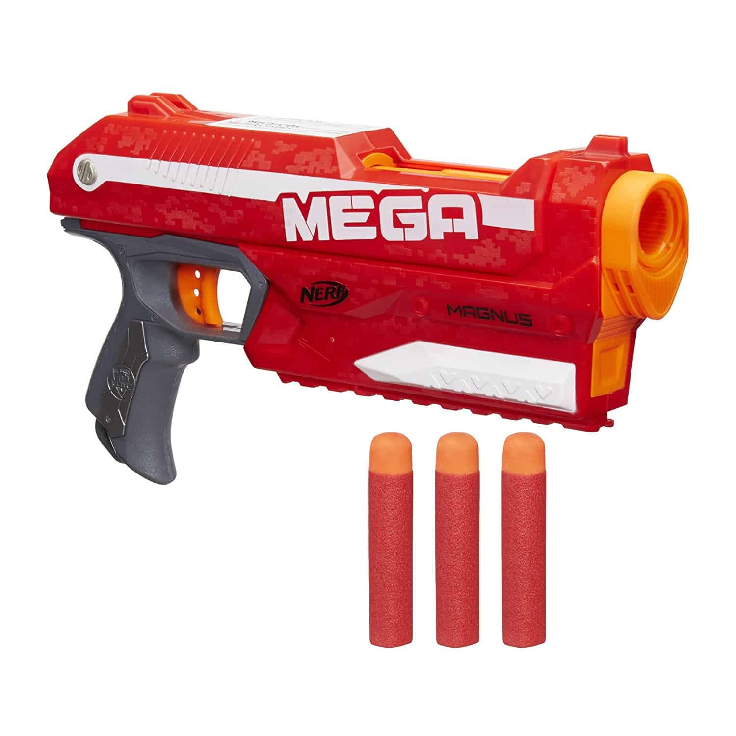 Nerf N-Strike Elite Mega Magnus Blaster - Best Nerf guns for 8-year