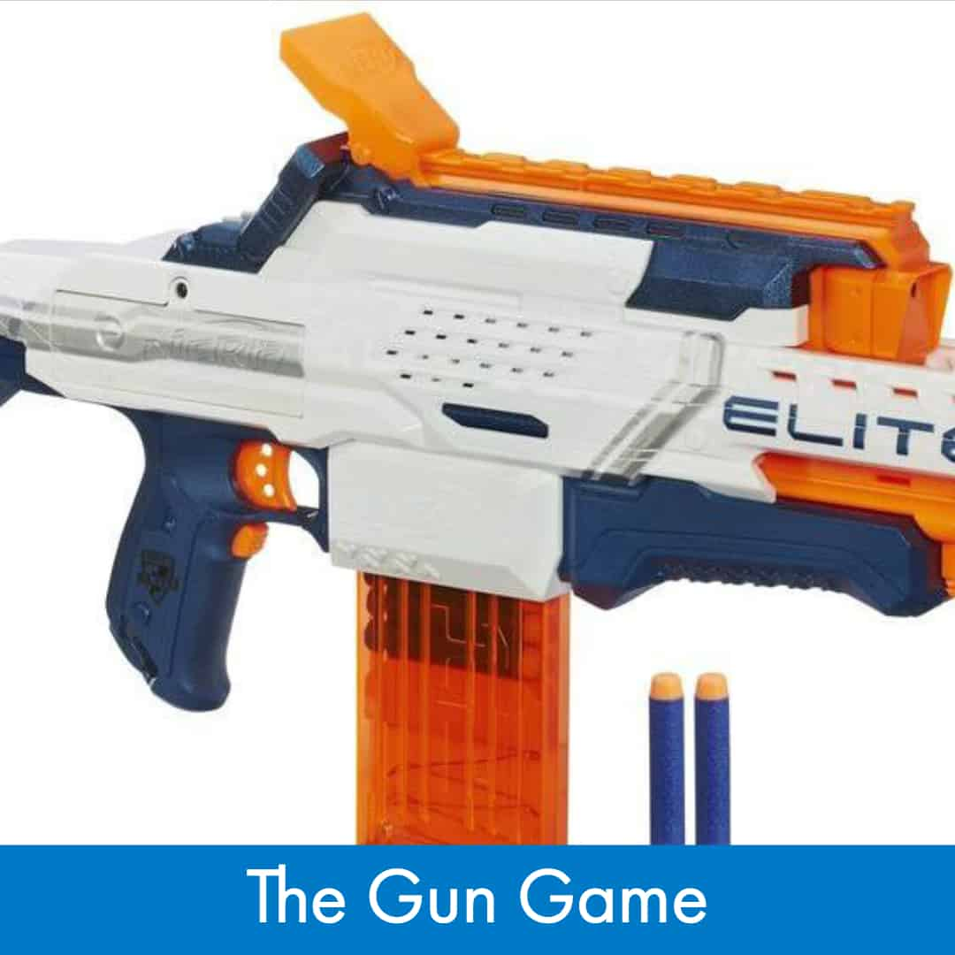 Nerf War Games  - How to Play The Gun Game