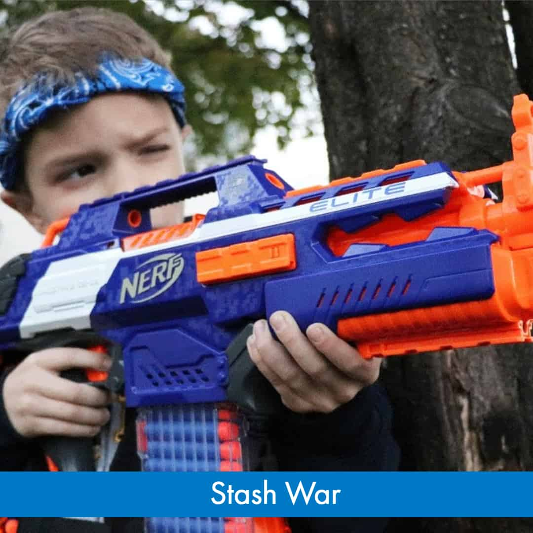 Nerf War Games - How to Play Stash War