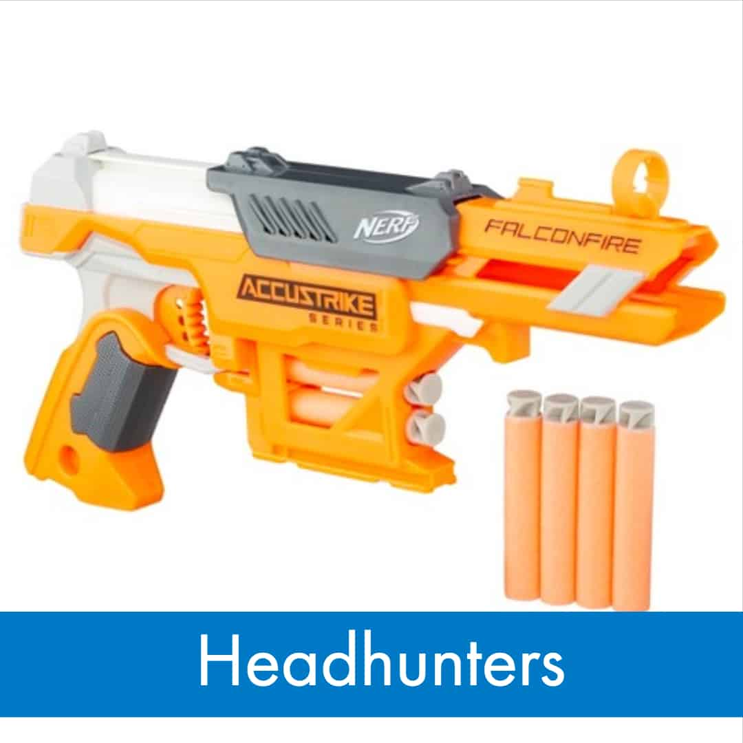 Nerf War Games - How to play Headhunters
