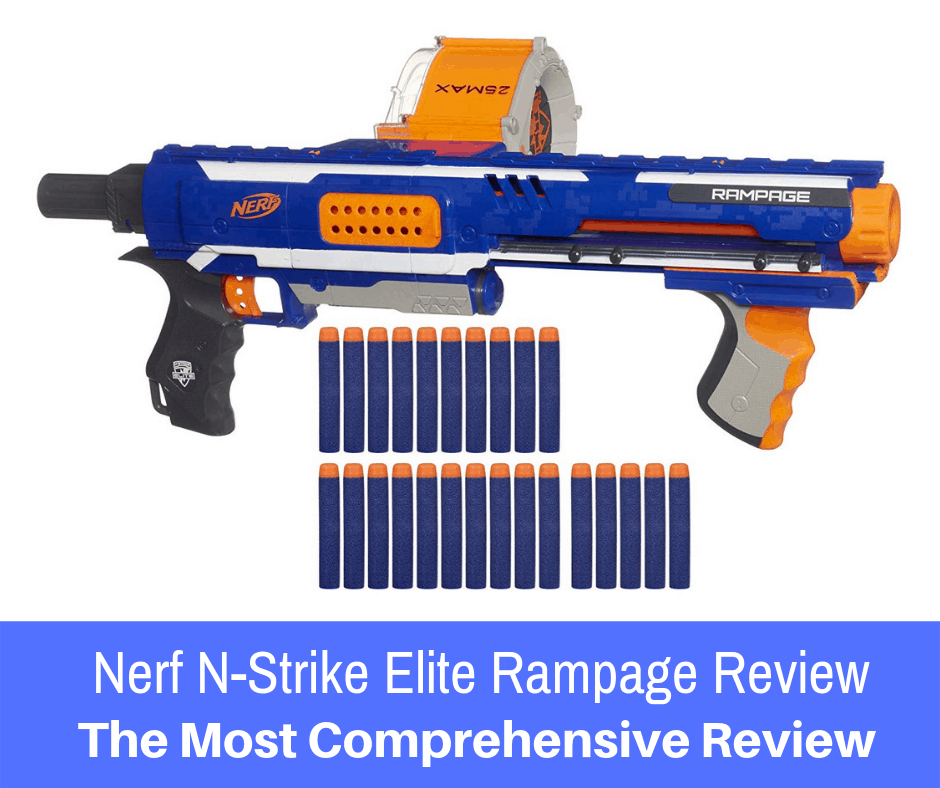 Nerf N-Strike Elite Rampage Review