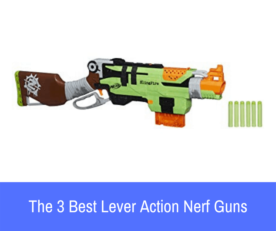 That said, there are some priming mechanisms that you may be unaware of. Take, for example, lever-action firing, which can only be found on a few choice weapons throughout the entire Nerf universe. If you're looking for this type of weapon, let's take a closer look at what lever-action priming provides you with as well as the 3 best lever-action Nerf guns on the market!