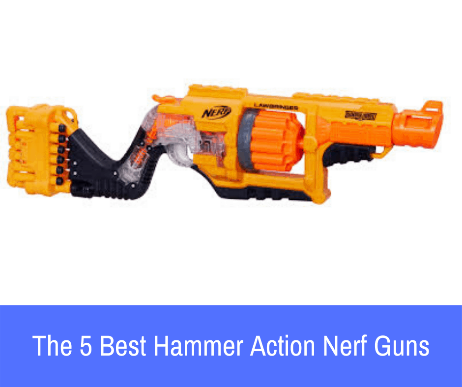 If you've never shot a Nerf guns with hammer action capabilities, you've yet to play with some of the best and smoothest blasters on the planet.