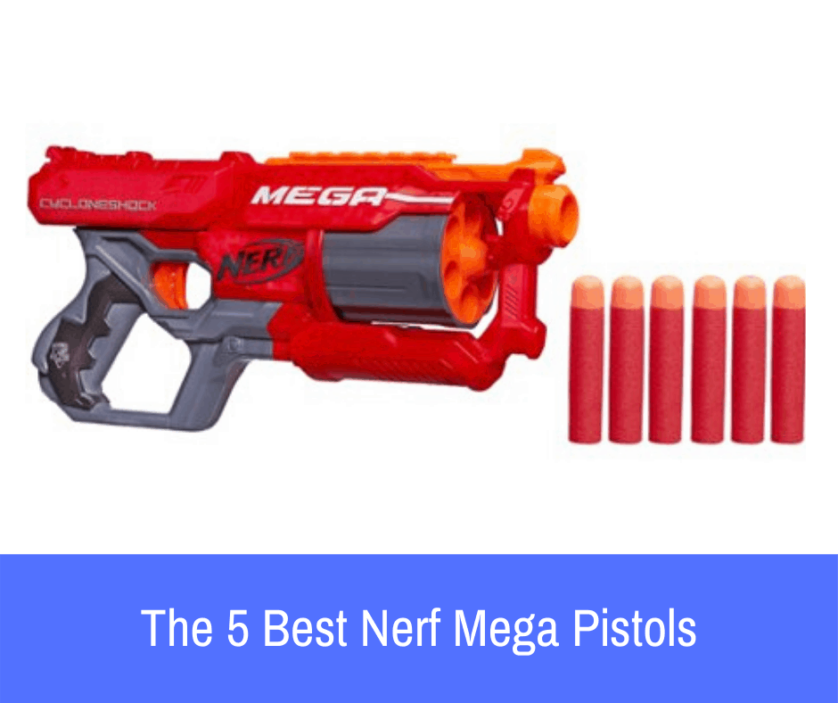 Are you looking for a reliable pistol that won't let you down in battle? If so, take a look at our list of the 5 best pistols that the Nerf Mega line has to offer!