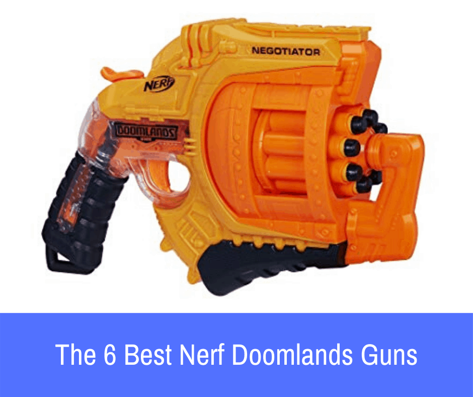 If you have decided on a blaster from this series, here are the 6 best Nerf Doomlands guns that you should consider purchasing if you are interested in this line!
