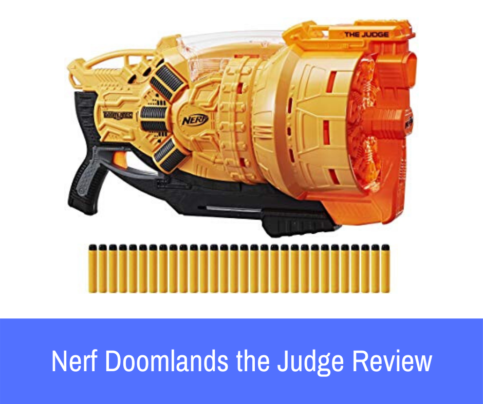 If you're looking into the Nerf Doomlands, The Judge as your next blaster, continue reading the review below to learn more about this blaster and how it performs.