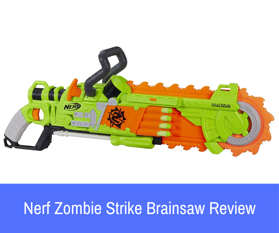 Review: Enter the Nerf Zombie Strike Brainsaw blaster, a truly unique product that breaks the boundaries of what it means to play with Nerf. If the Brainsaw is on your mind, let's take a look at how well it performs and whether or not it will be a good fit for you!