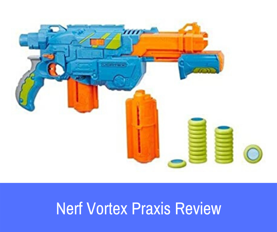 Review: Here's what you should know about the Nerf Vortex Praxis disc gun if it is a blaster that has managed to capture your attention.