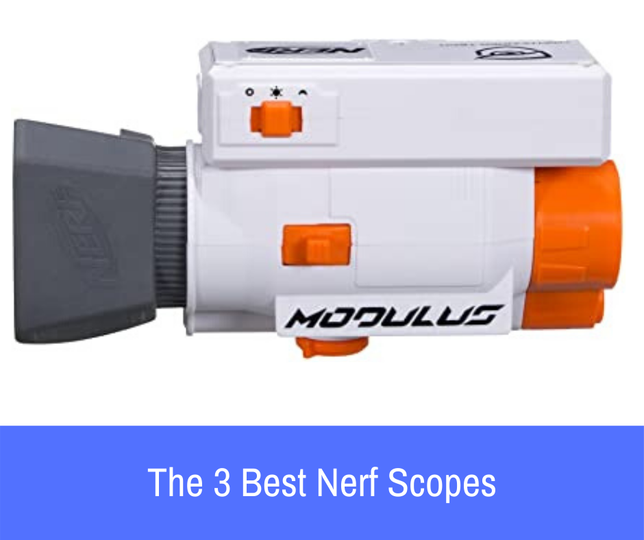 How can you get a hold of top notch nerf scopes? Good news! Right here, we'll be checking out five best nerf scopes. Take your time to pick the one that suits your interest.