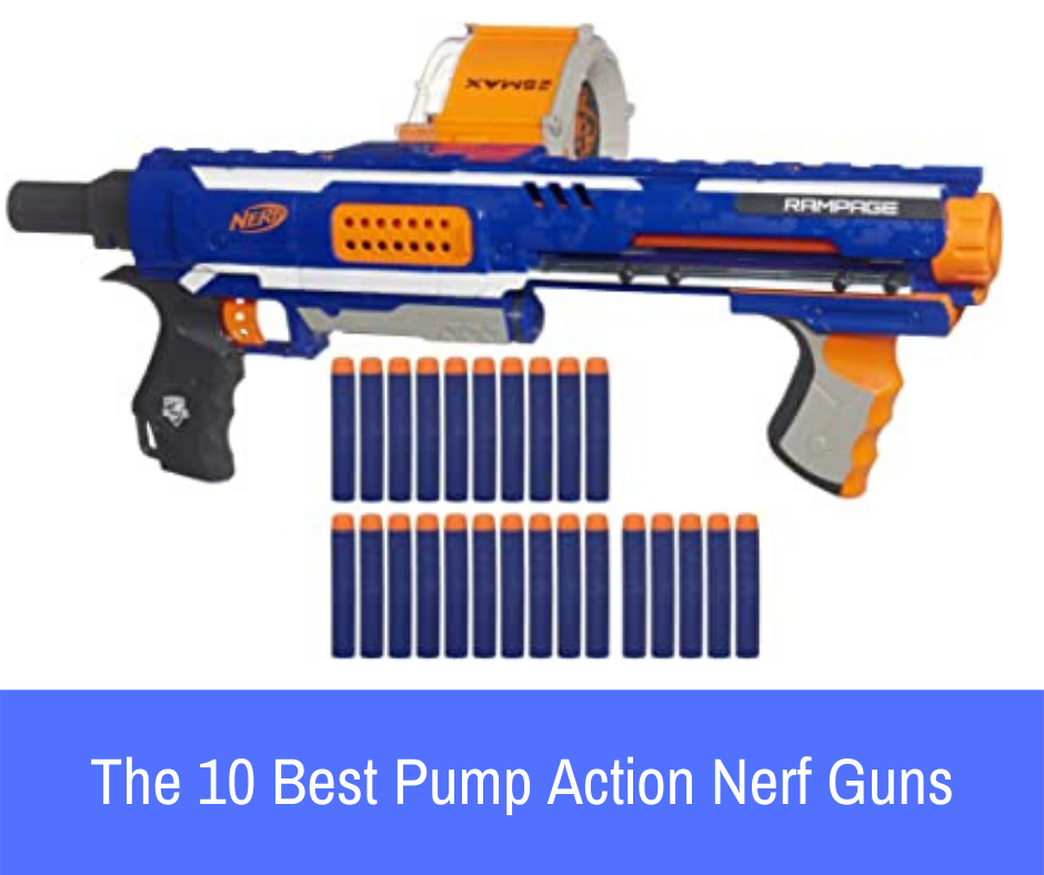In this article, I will be showing you the best pump action Nerf guns, and why in particular I love each and every single one of them.