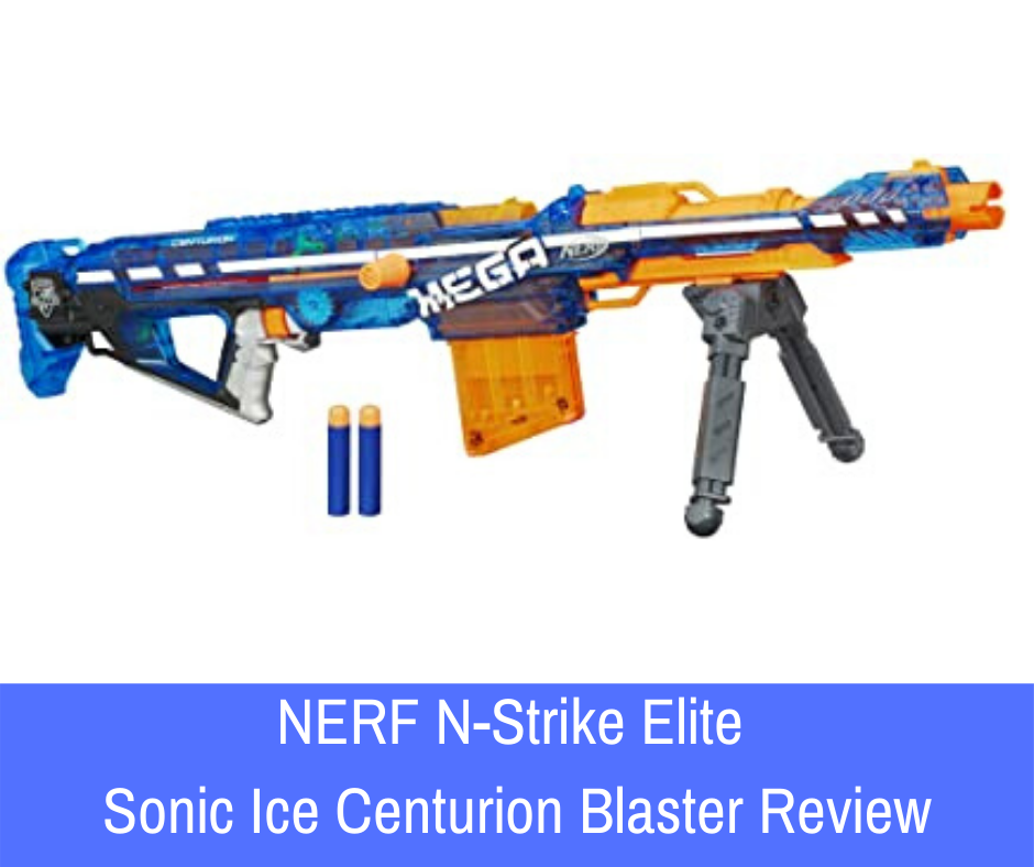 Review: NERF guns are a brilliant way to have a lot of fun. With its incredible range, the N-Strike Elite Sonic Ice Centurion Blaster takes it to the next level