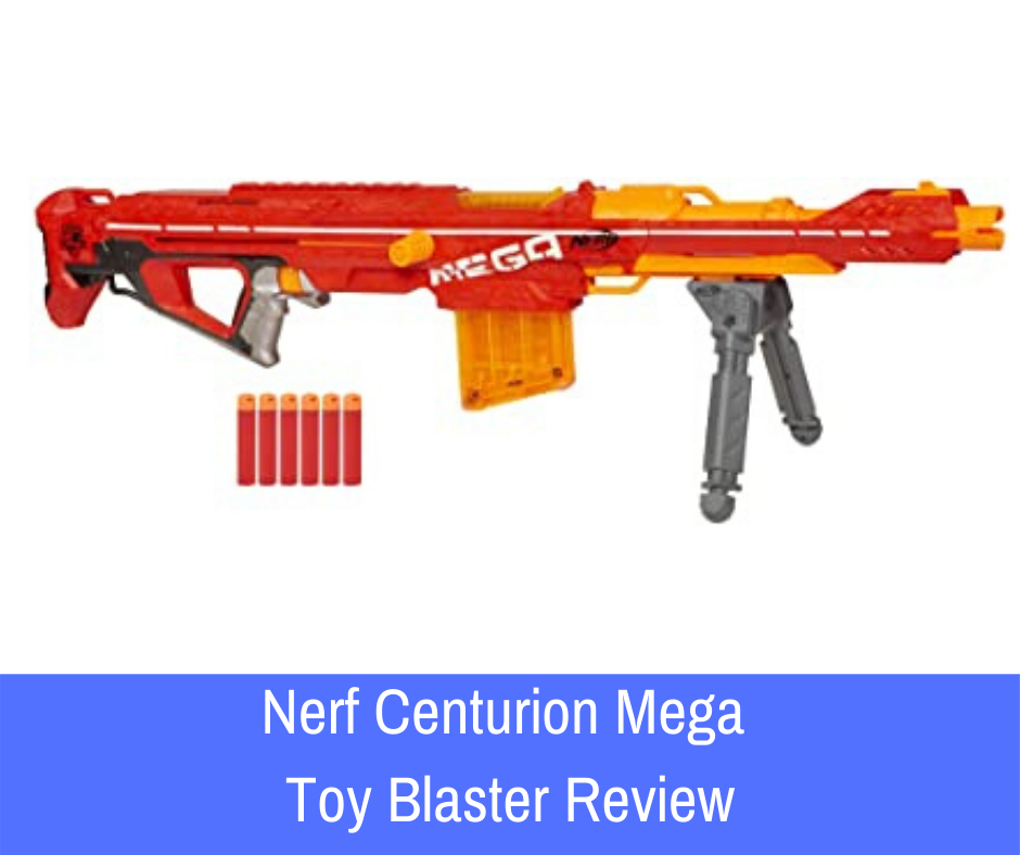 Review: Referred to as 'one of the best Nerf sniper rifles on the market today' the Nerf Centurion Mega Toy Blaster is often raved about, and with good reason too.