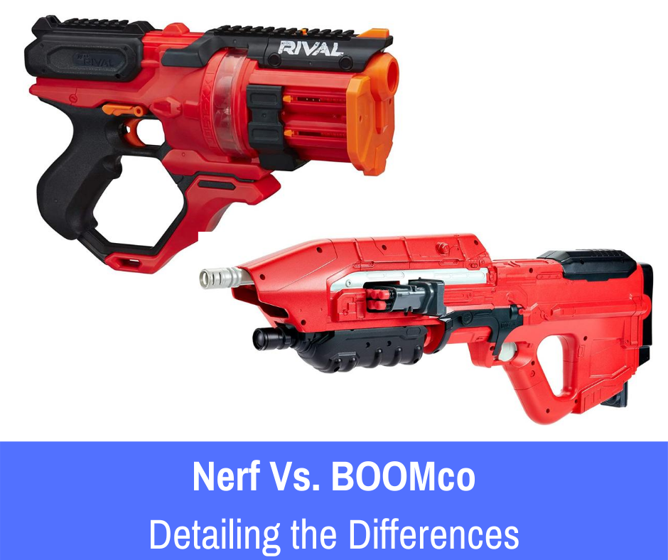 For those who may have come across BOOMco. during their research and are curious to know which one of the brands may be considered the best out of their competitors, let's compare Nerf vs. BOOMco. to see which line of dart guns comes out on top!