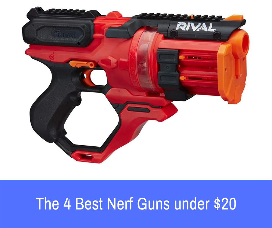 Do you want to be a triumphant Nerf warrior? I know you do. How about showing you formidable Nerf guns that'll fetch you first-class victory? In this article, we'll be examining some of the best Nerf guns under 20 dollars. ​