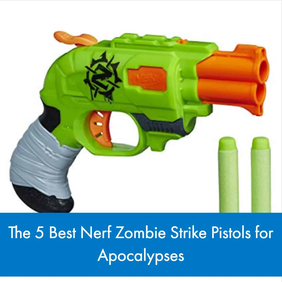 Because the Nerf Zombie Strike series is so expansive, We break down the 5 Best Nerf Zombie Strike Pistols. There are quite a few weapons designed for the line that enthusiasts can choose from, some good and some not as great as users would like.