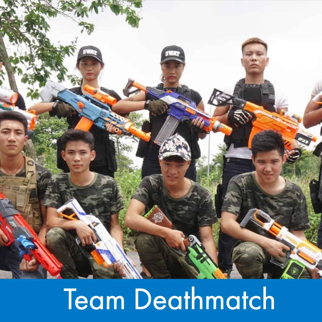 Nerf Games - How to play Nerf Team Deathmatch