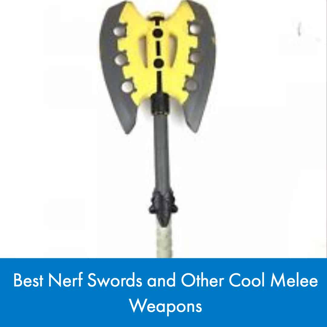 For those of you who are interested in getting a Nerf melee weapon of your own, here are the 8 best Nerf swords and other cool melee weapons.
