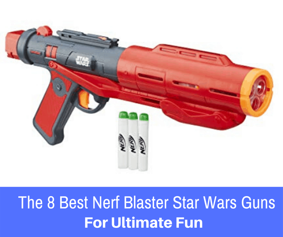 The best part of being a Nerf fan is watching Nerf create new lines and styles that add to the battle experience. Among one of the most popular and exciting lines of guns is the newer Star Wars line of blasters. Here are the 8 best.