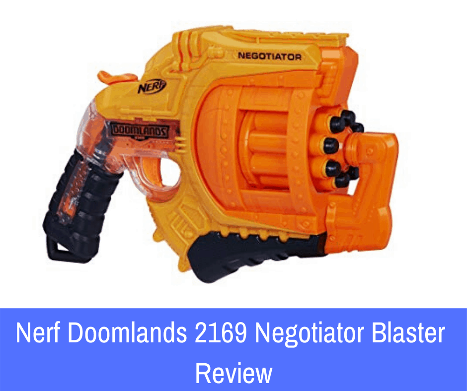 Nerf Doomlands 2169 Negotiator Blaster Review