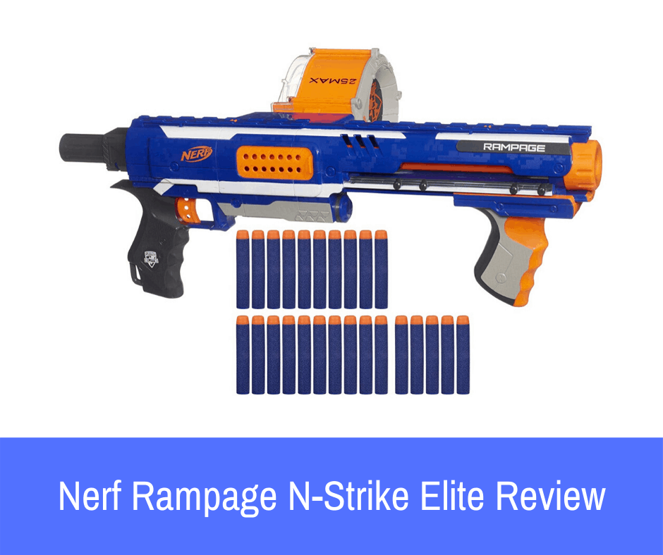If you are looking to purchase the Nerf N-Strike Elite Rampage blaster but want to know everything about it before you decide to go all-in, take a look at the comprehensive product review
