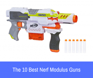 If the Nerf Modulus series caught your eye but you're not sure which blaster you should purchase or where to begin, here is a list of the best Nerf Modulus guns to choose from!