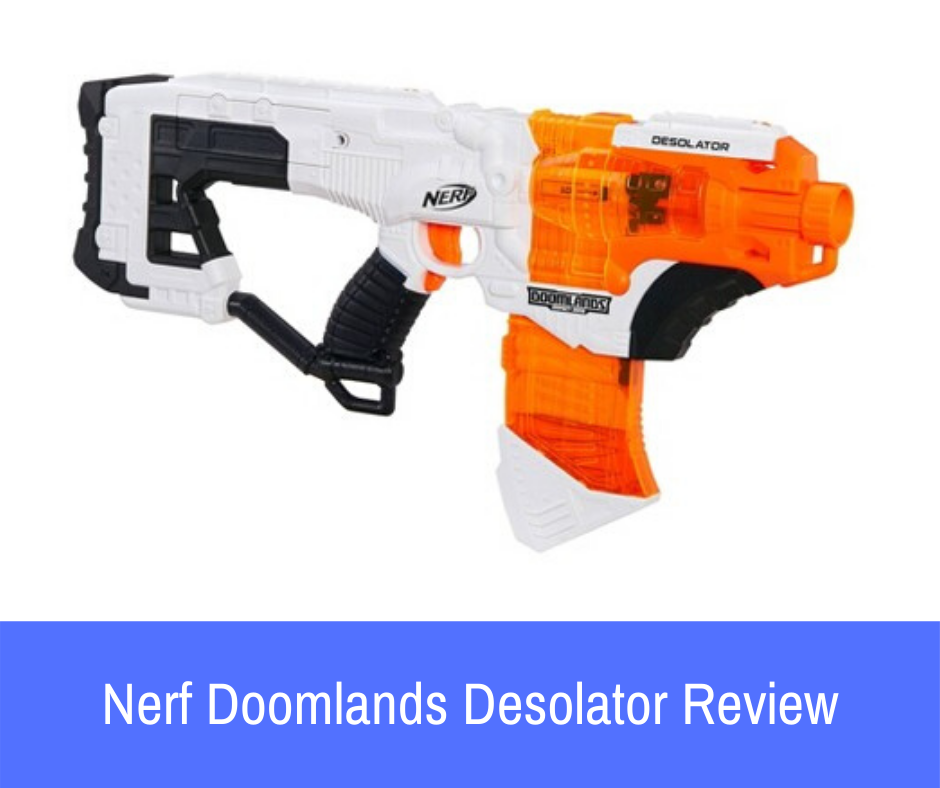 Review: While most blasters will feature similar elements, we can almost guarantee that one blaster deviates from the standard design and functionality formula that the other guns rely on. In the Nerf Doomlands 2169 series, the Nerf Doomlands Desolator is this blaster.