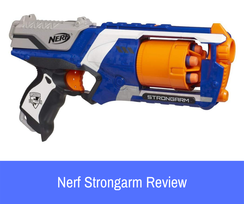 Review: The most common blaster that you see in the hands of new Nerf enthusiasts is the Nerf N-Strike Elite Strongarm blaster. This handgun is an excellent foundational weapon for the original line.