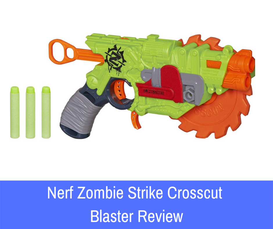 We are going to review the Nerf Zombie Strike Crosscut blaster to help you enter the series and build your arsenal with confidence!