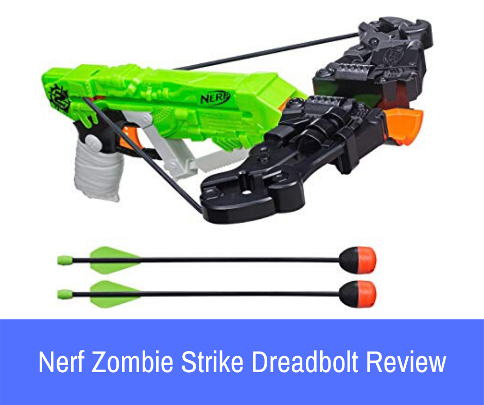 "When it comes to Nerf blasters, the term ""unique"" gets thrown around quite a bit. We break down a quite unique one in our Nerf Zombie Strike Dreadbolt Review"