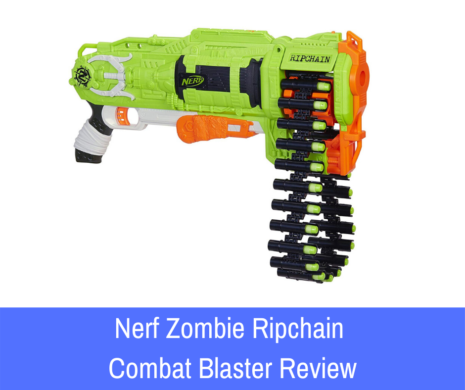 Review: One great weapon that fits the bill? The Nerf Zombie Strike Ripchain Combat blaster is definitely one of those primary weapons within the series that can do some damage.