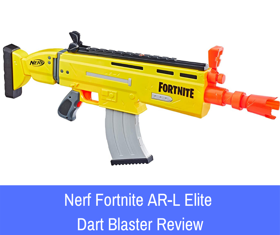 Review: Oh, you say the kids love Fortnite? I know just the Nerf blaster for you. Come take a look at the Nerf Fortnite AR-L Elite Dart Blaster.