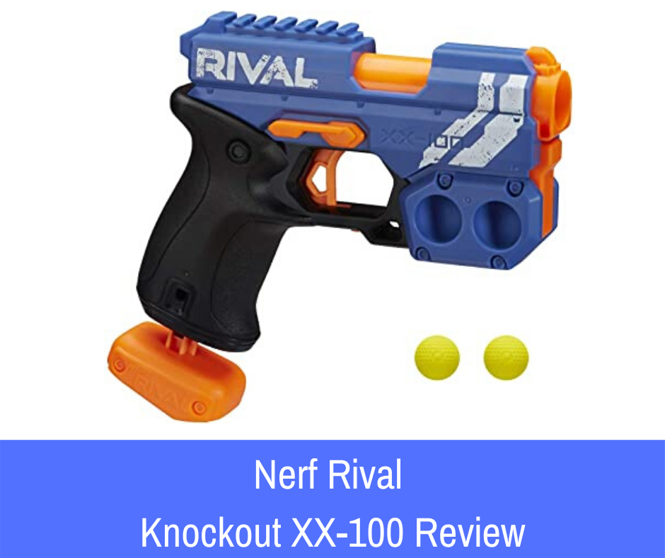 Review: A budget blaster that embodies all the beautiful construction. Introducing the Nerf Rival Knockout XX-100.