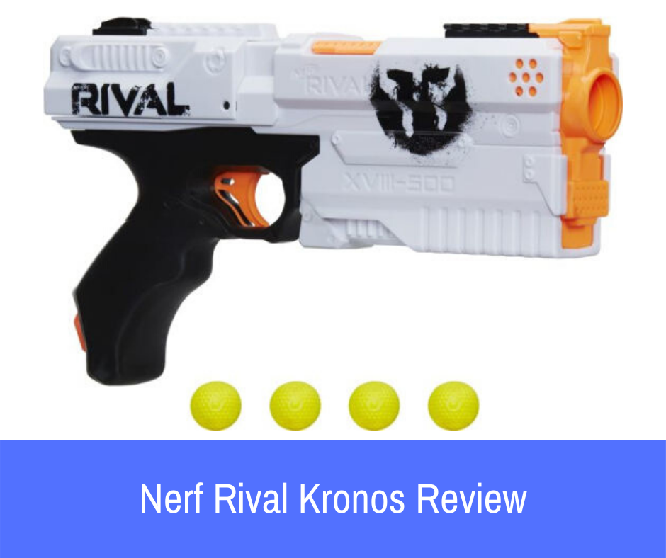 Review: Sometimes you want sleekness, selectiveness, & stealth, something subtle. Let me to introduce the Nerf Rival Kronos. This covers all the bases as an awesome Nerf gun