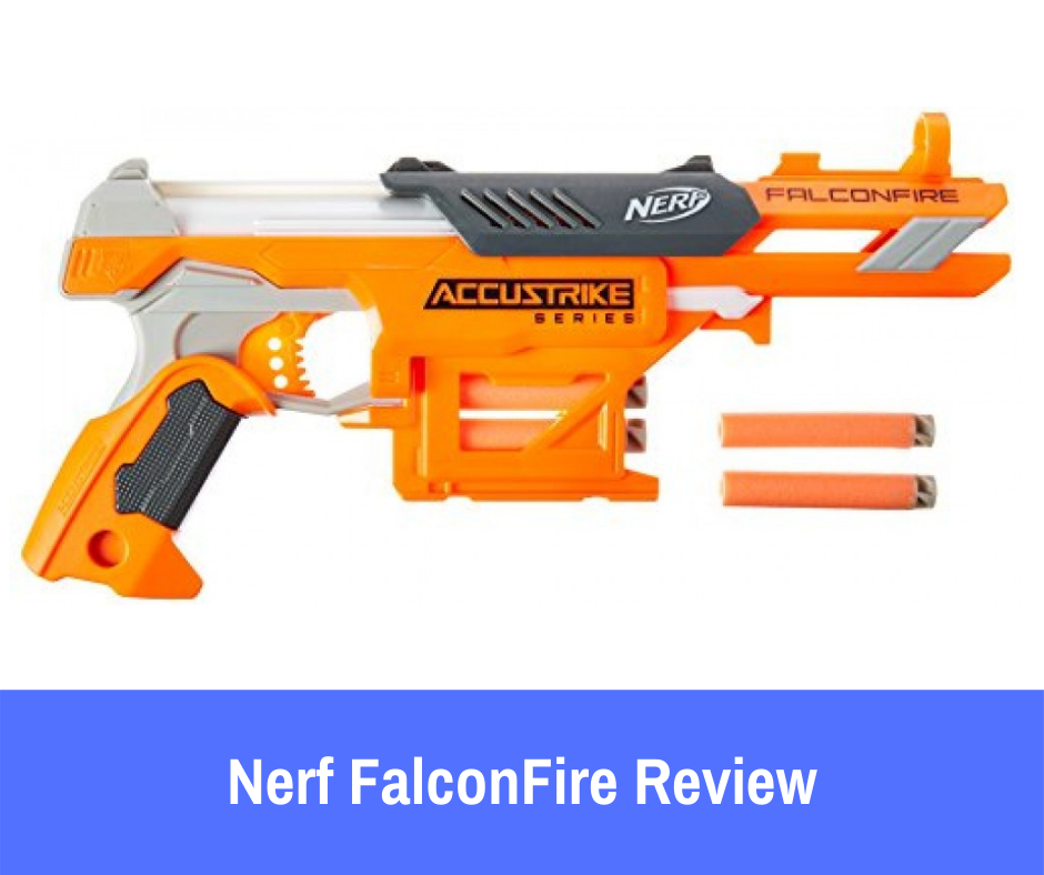 Review: Here is what you should know about the FalconFire that will better help you make your decision. It is the most accurate Nerf gun.