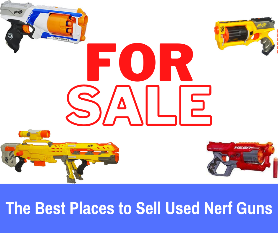 Selling used Nerf guns can be a frustrating task with lots of questions- where to sell, how much, etc. I breakdown where I have sold all of my nerf guns