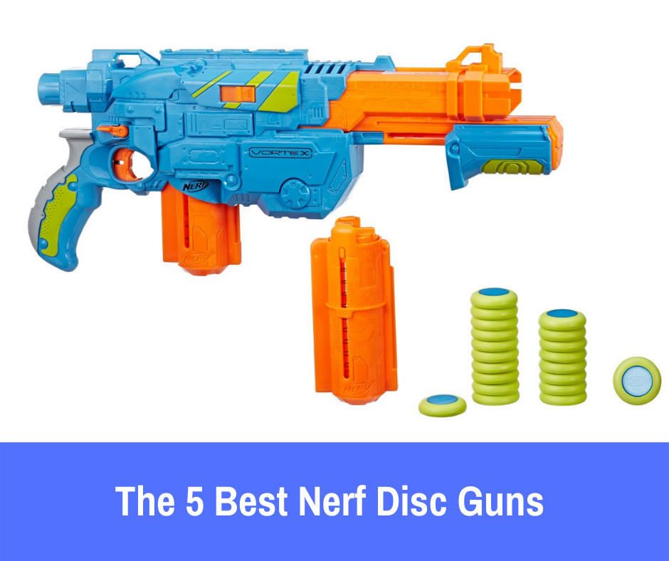 The 5 Best Nerf Disc Guns: Nerf disc guns offer a superior blasting experience that offers the tamer battle action you're looking for without....
