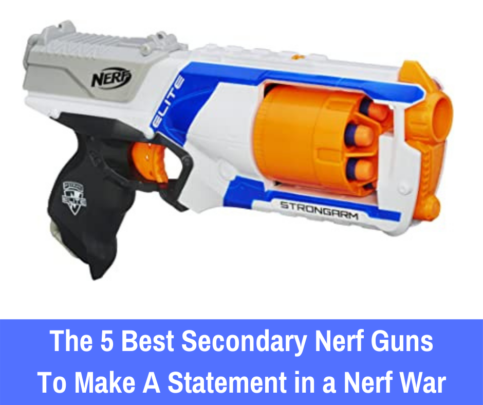 Primary blasters are the most effective blasters that will allow you to successfully compete in any Nerf battle. Secondary blasters offer additional support when you're unable to access your primary blaster. But when it comes to blasters that you should have on the side, what are the best secondary Nerf guns to add to a collection?