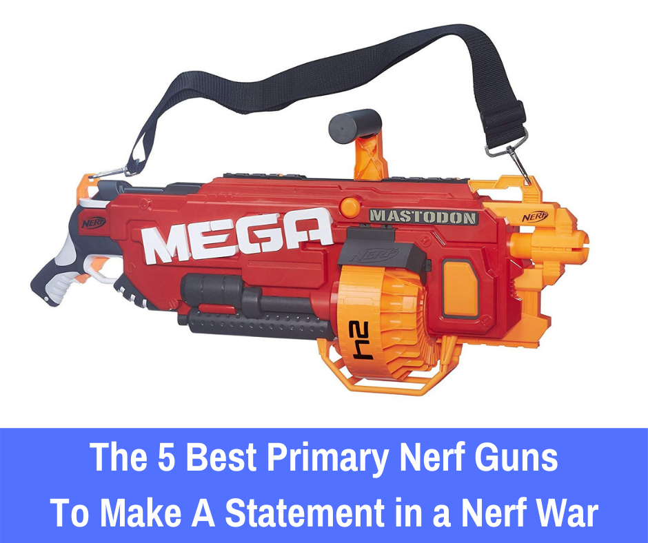 Take a look at the five best primary Nerf guns: We share which ones will provide you with the best experience in any battle situation.
