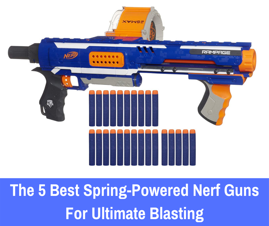 If you're on the hunt for manual Nerf blasters, here are the five best spring-powered Nerf guns to consider