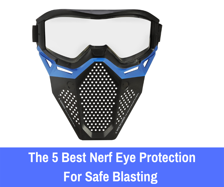 That being said, there are products that you can use to prevent any serious damage from occurring in the heat of battle. To help your Nerf players stay protected, here are the 5 best Nerf eye protection products that'll offer additional safety.