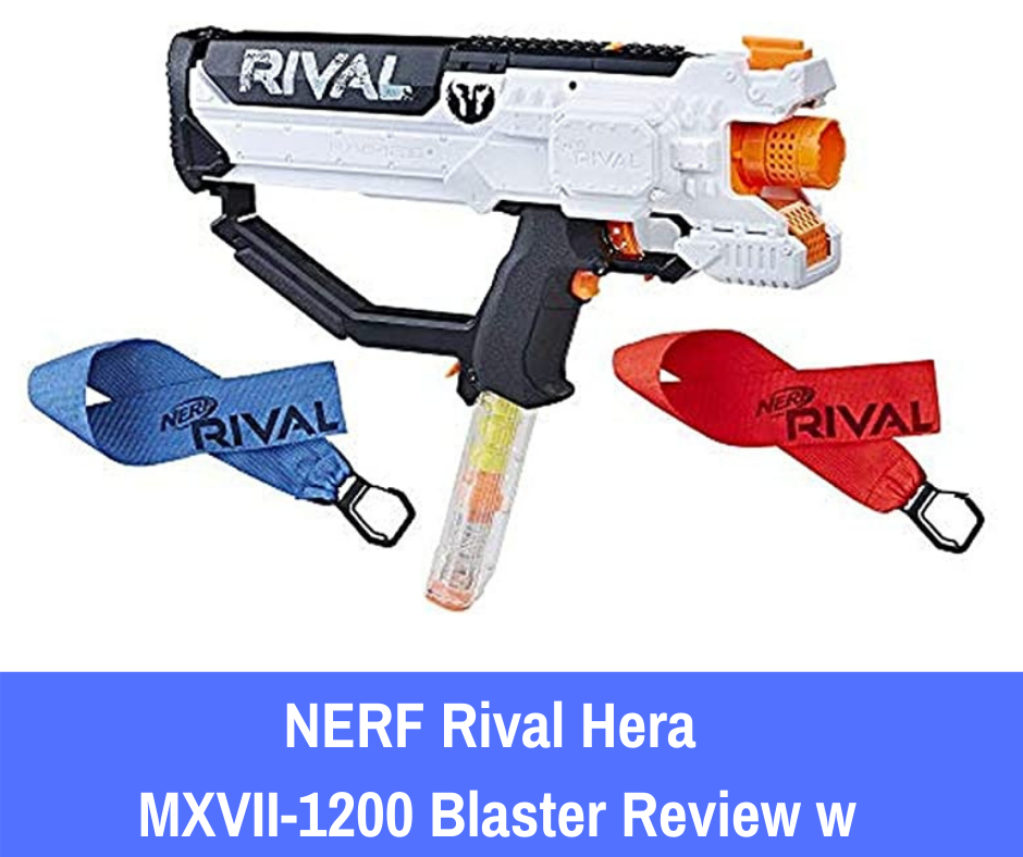 In this review, we will be examining the Nerf Rival Hera MXVII-1200 to help you get in on the exciting, enhanced weaponry that Nerf has designed for older users everywhere.