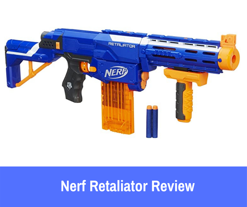 The Nerf N-Strike Elite Retaliator is arguably one of the more handsome blasters in the series.