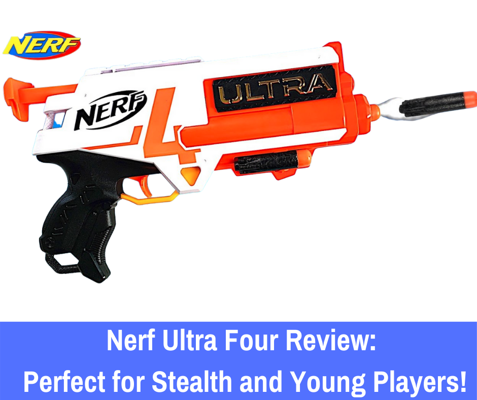 If the Nerf Ultra Four has caught your eye, let's take a closer look at this blaster and what you should know before you decide to buy it for the Nerf enthusiast close to you!