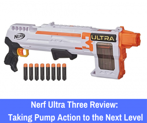 Nerf Ultra Three review: If you're ready to dive into a new type of shotgun that all older Nerf enthusiasts will want to add to their collection, let's ...
