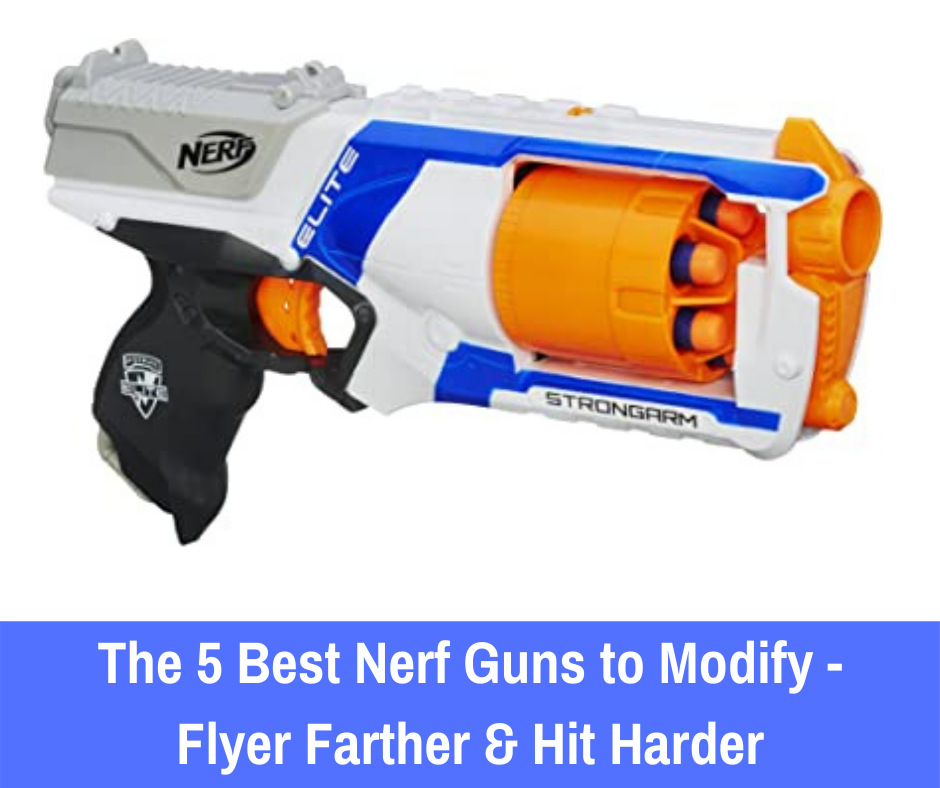 Modifying Nerf guns gives you the ability to take a Nerf gun that may offer an average experience and help it go above and beyond.