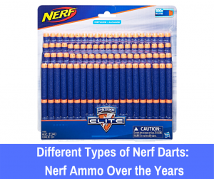 Let's take a walk down memory lane as we analyze the different types of Nerf darts over the years. From the large Mega darts to the new glow-in-the dark...