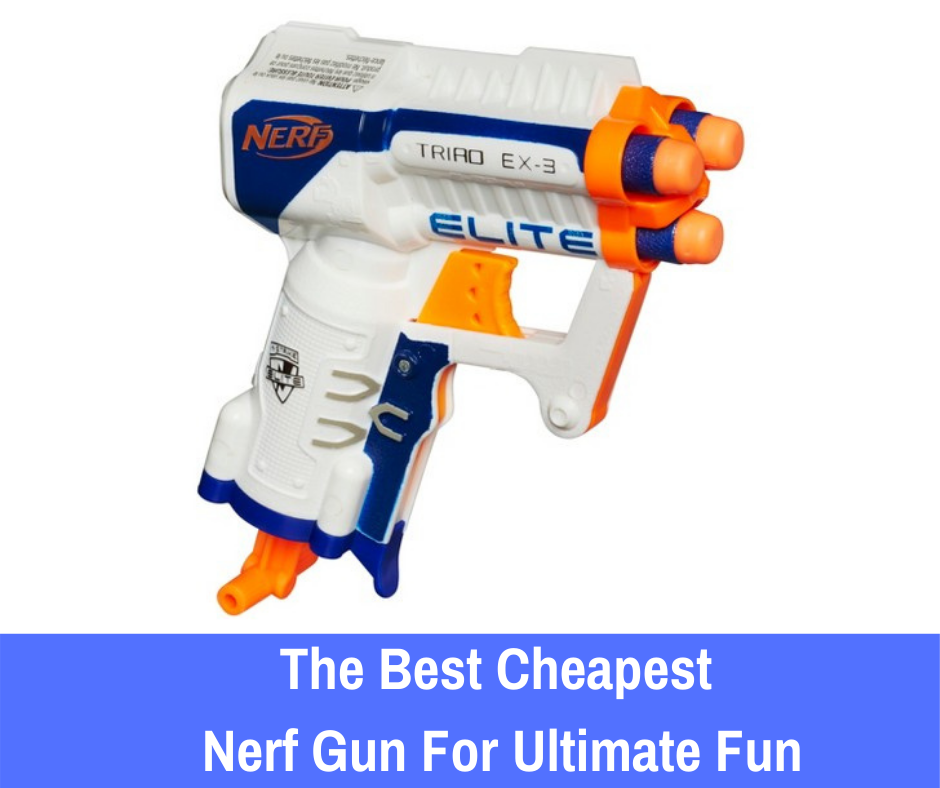 The Best Cheapest Nerf Gun For Ultimate Fun: You don't have to! If you're looking for a great, affordable Nerf gun, let's take a look at a few affordable Nerf blasters that you may be interested in purchasing to launch your Nerf journey.