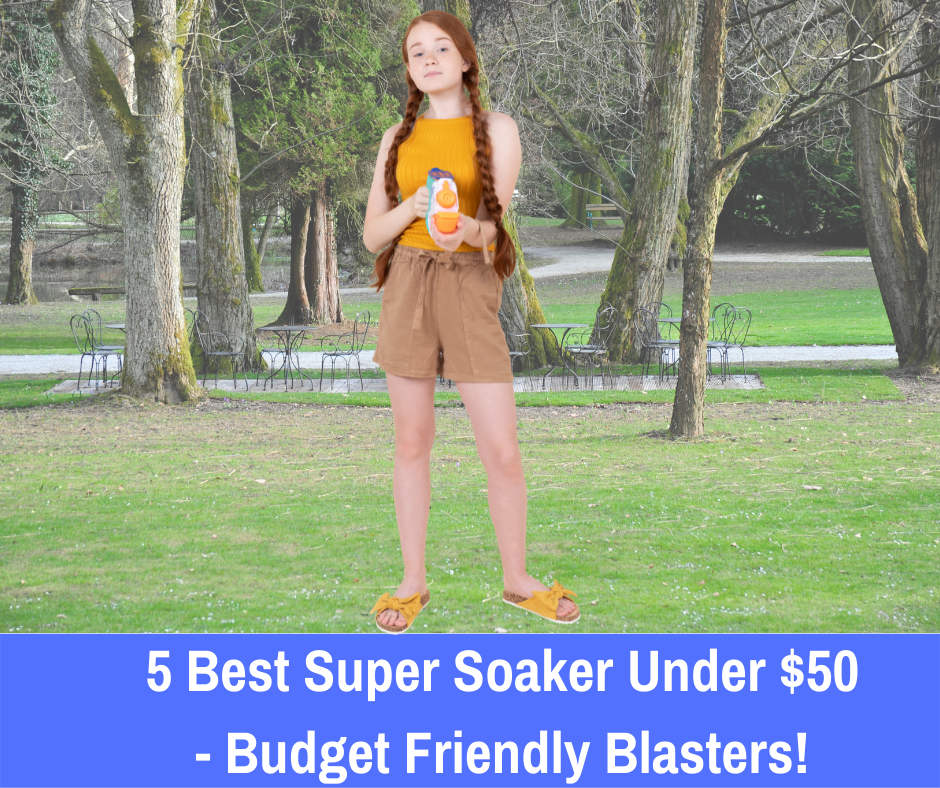 5 Best Super Soaker Under $50: If you're looking for a Super Soaker that's both within your budget and gives you the power you're looking for, let's take a look at the best Super Soaker under $50 and some runner-ups to consider adding to your collection.
